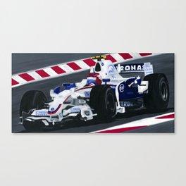 Robert Kubica Wins Canadian Grand Prix for BMW Sauber 2008 Canvas Print