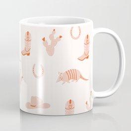 Western Print Coffee Mug
