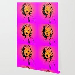 Marilyn Pink Wallpaper