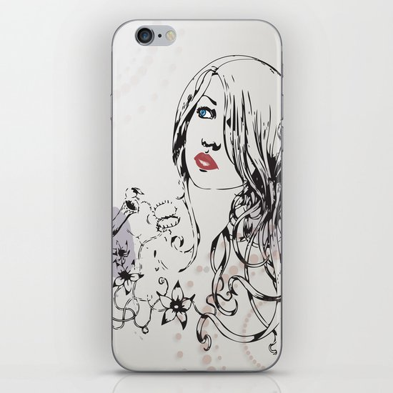 pretty iPhone & iPod Skin
