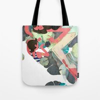 pisces Tote Bags featuring Pisces by Leonard Peng