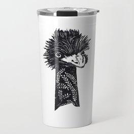 Ostrich Travel Mug