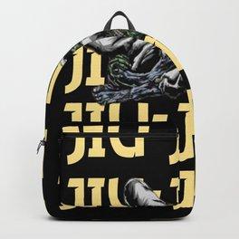Jiu-Jitsu Zombie Armbar Backpack
