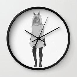 Wilczyca Wall Clock