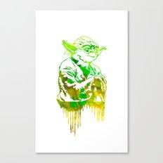 Yoda Print Canvas Print