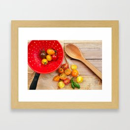 Tomato Still Life 1 Framed Art Print