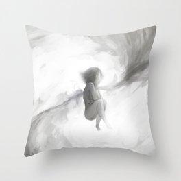 Princesa Branca Throw Pillow