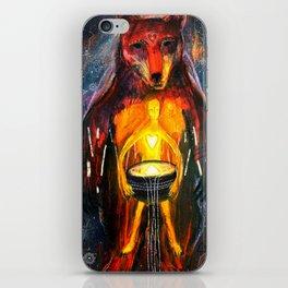 BeornHeorte - Bear Heart iPhone Skin