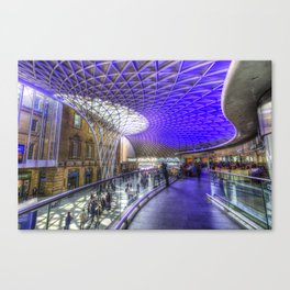 Kings Cross Station London Canvas Print