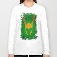 loki Long Sleeve T-shirts featuring Loki by Some_Designs