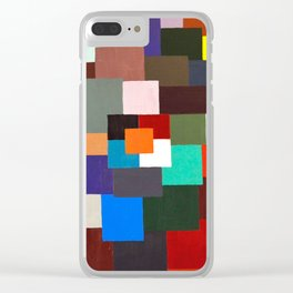 Blockhead Clear iPhone Case