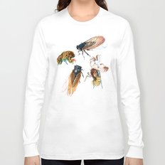 summer cicadas Long Sleeve T-shirt