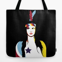 =Juliette Lewis///Black= Tote Bag