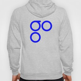 OmiseGo Go OMG Blue Logo Hoody