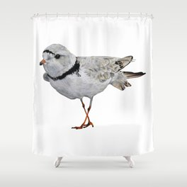 Piping Plover Shower Curtain