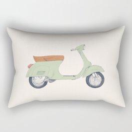 Italian Moto Rectangular Pillow