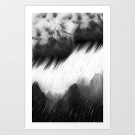 ShadowMountain Art Print