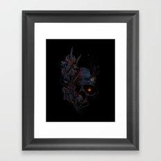 DeathBlooms Framed Art Print