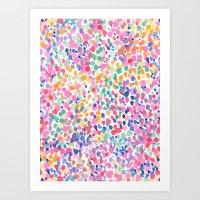 pastel Art Prints featuring Lighthearted (Pastel) by Jacqueline Maldonado
