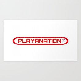 PlayaNationMG RW 2-Tone Art Print