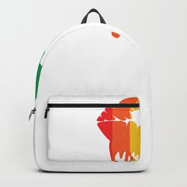 Pride Lip Drip Rainbow Dripping Lips LGB Backpack