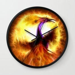 Phoenix Bird Wall Clock