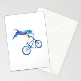 BMX Cat Stationery Cards
