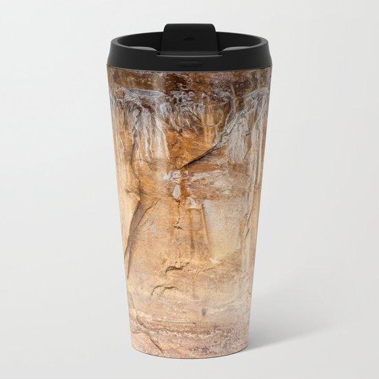 Time's Language (Zion National Park, Utah) Metal Travel Mug