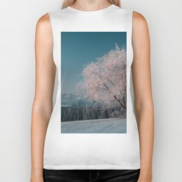 First light - Landscape and Nature Photography Biker Tank