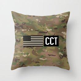 CCT (Camo) Throw Pillow