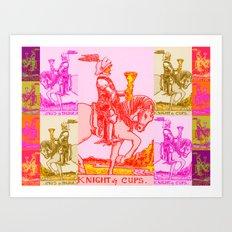 Knights Be Knighting Art Print