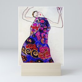 The Embrace Reimagined By James Thomas Ryan Mini Art Print