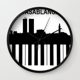 Casablanca - © Doc Braham; All Rights Reserved Wall Clock