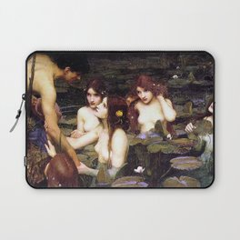 HYLAS AND THE NYMPHS - WATERHOUSE Laptop Sleeve