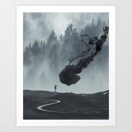 L.O.S.T Art Print