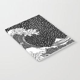 The wave of Kanagawa. Hokusai Notebook