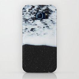 Black Sand Beach iPhone Case
