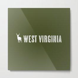 Deer: West Virginia Metal Print