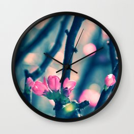 Spring Bling Bling Wall Clock