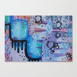 Bubble Treats Canvas Print
