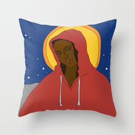 """Skittles"" (Trayvon Martin Commemorative) Throw Pillow"