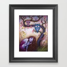 Wishing Tree Framed Art Print