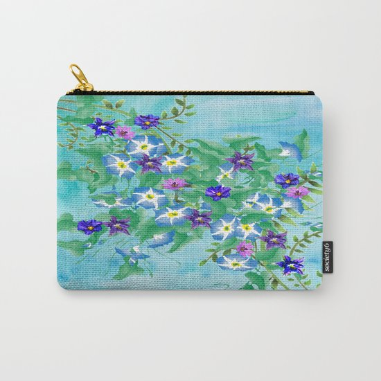 Watercolor Spring Bouquet  Carry-All Pouch