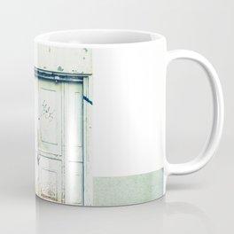 Blanco y óxido Coffee Mug