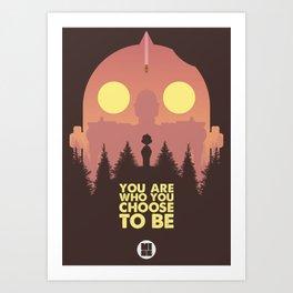 I love you Giant Art Print