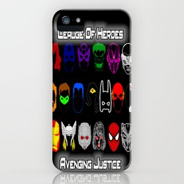 Avenging Justicee iPhone Case