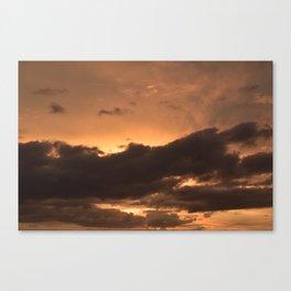 Costa Rican Sunset Canvas Print