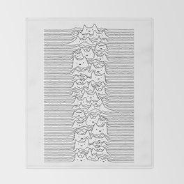 Furr Division White Throw Blanket