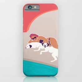 Calm, Leisure, Vacation iPhone Case