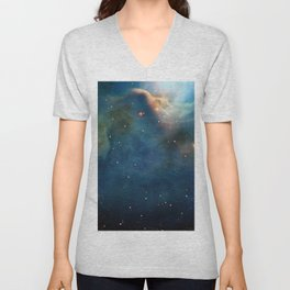 Dusty Nebula Unisex V-Neck